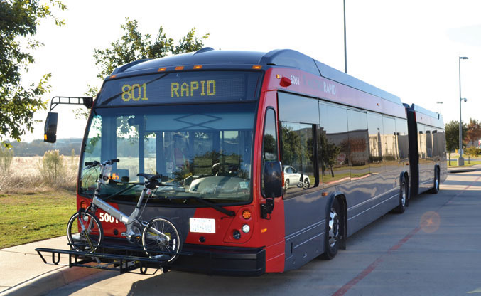 Leander Station offers alternative transportation options to Liberty Hill residents